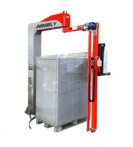 Nimbly-rotary-arm-pallet-wrapper